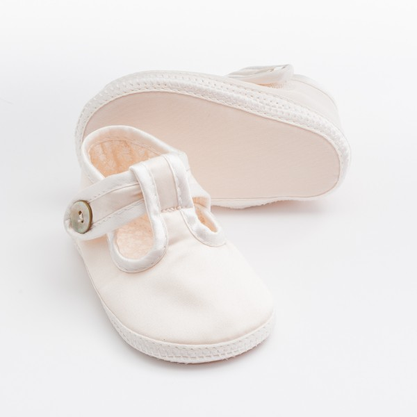 BABY BOYS SPECIAL OCCASION IVORY//CREAM CHRISTENING SHOES
